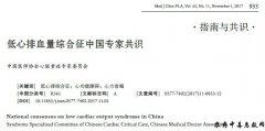 低心排血量综合征中国专家共识
